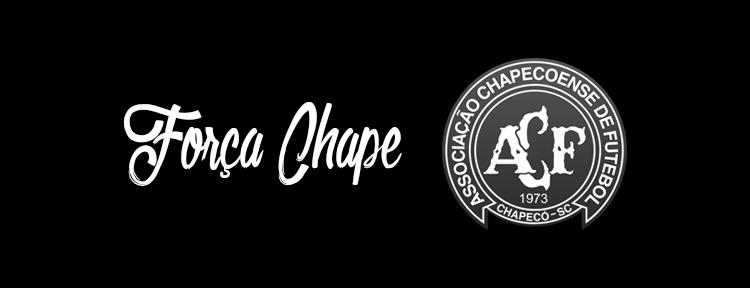 Nossos pêsames pela Chapecoense #ForçaChape